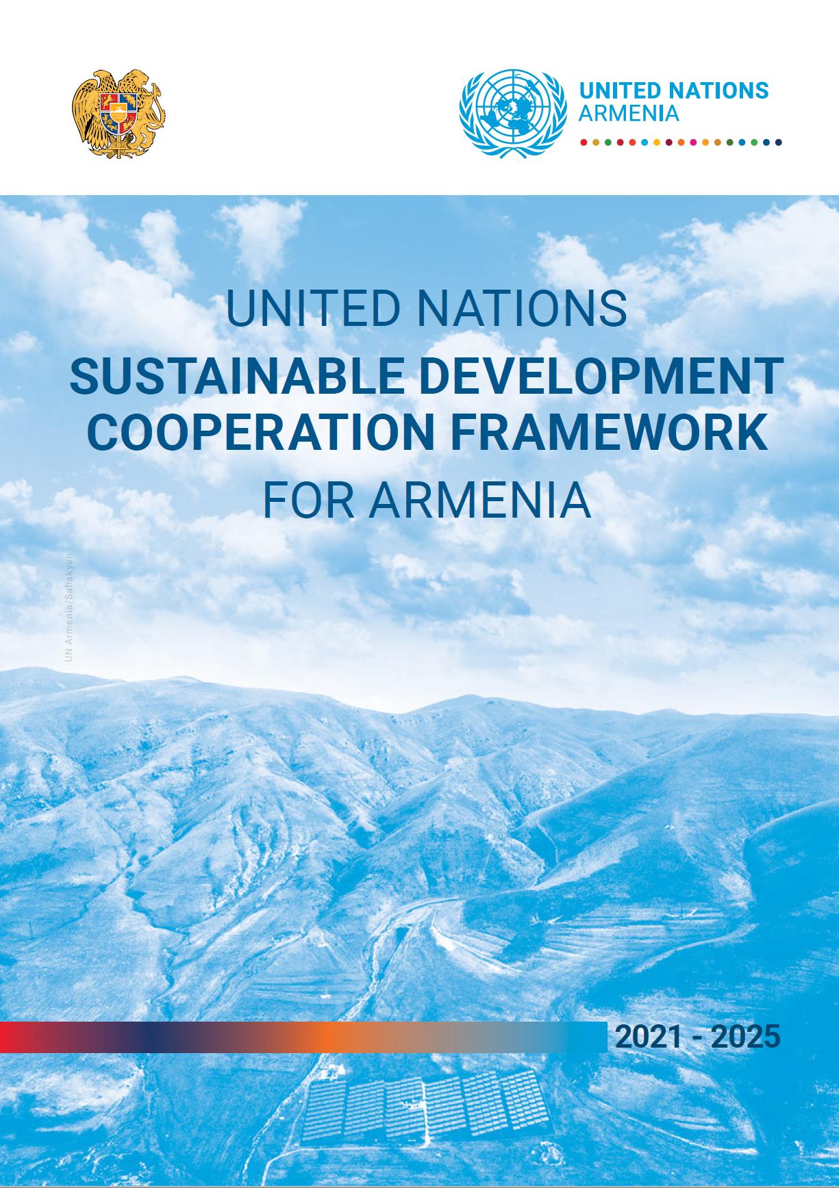 2021-2025 Cooperation Framework cover