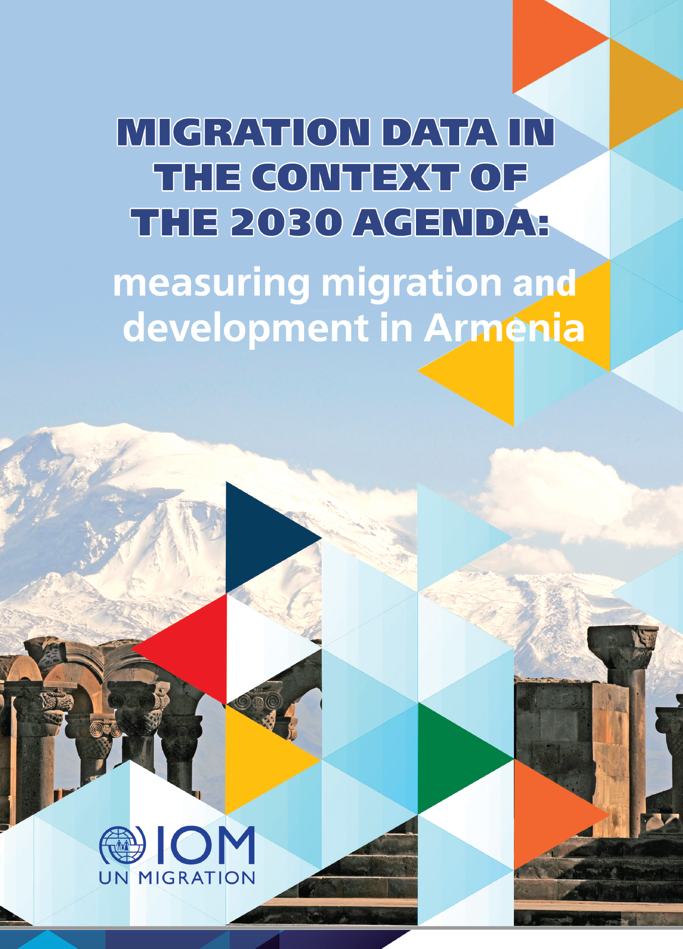 Migration data in the context of the 2030 agenda. measuring migration and development in Armenia cover.
