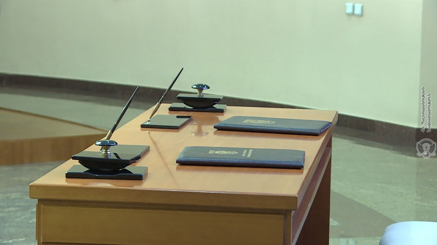 The Cooperation agreements ready to be signed.