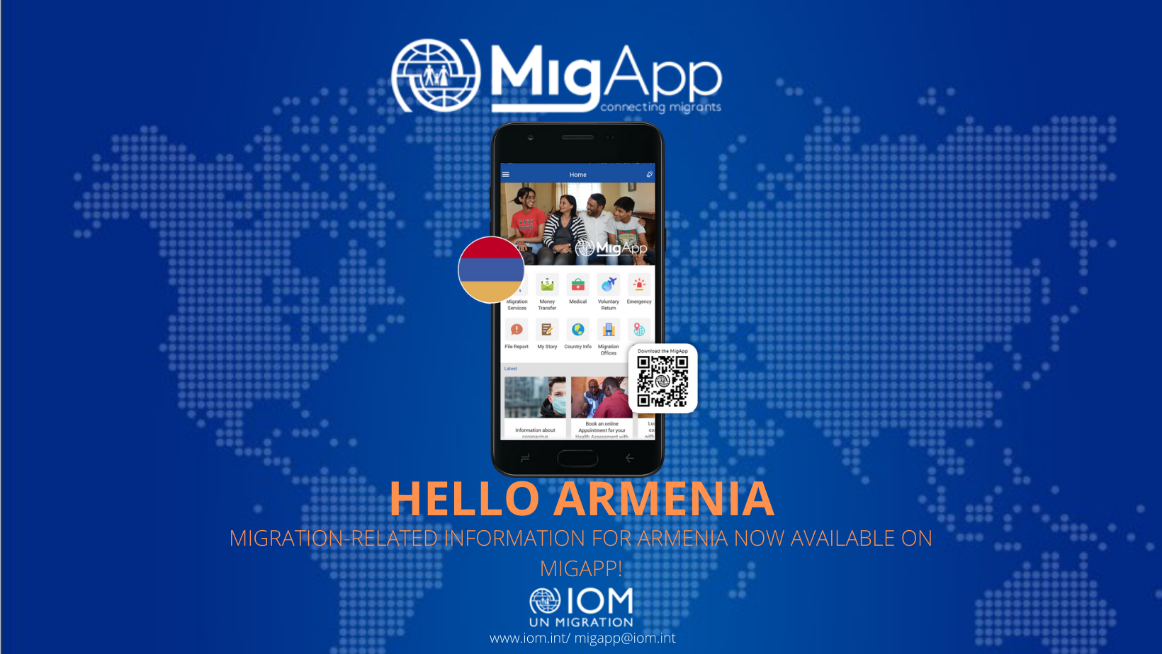 The poster of MigApp.