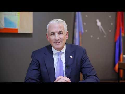 UN Resident Coordinator in Armenia, Shombi Sharp's video message on World Children's Day 2019