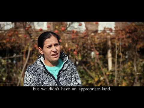 The Hovakimyans family return story to Chinari. IOM