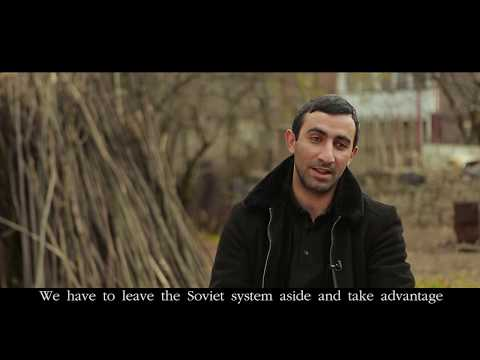 Adam Simonyan's return story to Armenia. IOM